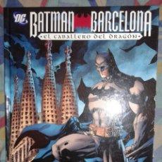 Cómics: BATMAN BARCELONA: EL CABALLERO DEL DRAGON: PLANETA. Lote 61418523
