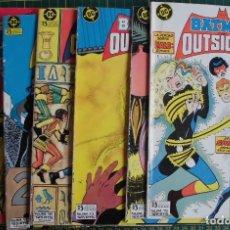 Cómics: LOTE 6 COMICS BATMAN Y LOS OUTSIDERS Nº 9 11 12 13 14 15 ED. ZINCO. Lote 169145072
