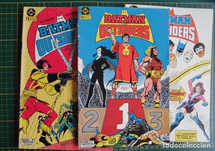 Cómics: Lote 6 comics Batman y los Outsiders nº 9 11 12 13 14 15 Ed. Zinco - Foto 2 - 169145072