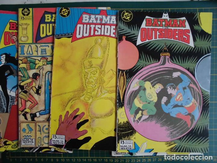 Cómics: Lote 6 comics Batman y los Outsiders nº 9 11 12 13 14 15 Ed. Zinco - Foto 3 - 169145072