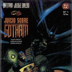 Cómics: BATMAN Y JUDGE DREDD, - JUICIO SOBRE GOTHAM -. Lote 169171548