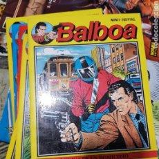 Cómics: BALBOA EDICIONES ZINCO COLECCION COMPLETA EN 6 TOMITOS.. Lote 169229308