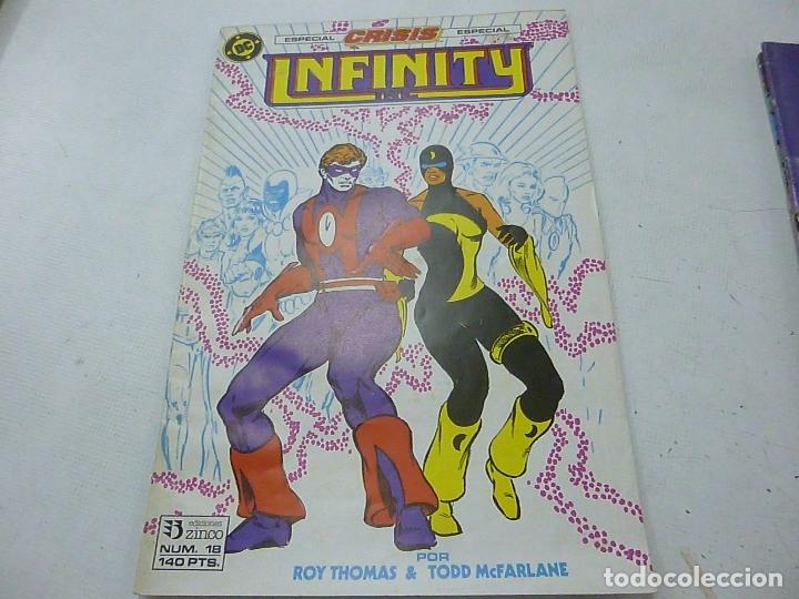 INFINITY - NUMERO 18 - EDICIONES ZINCO -N (Tebeos y Comics - Zinco - Infinity Inc)