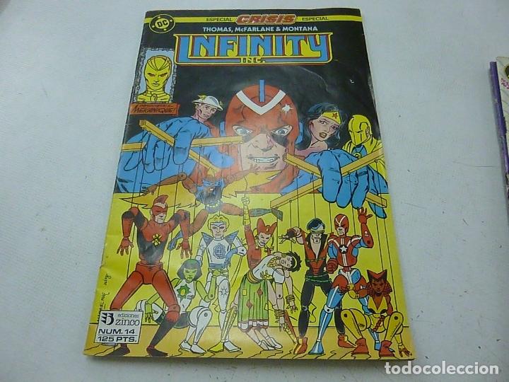 INFINITY - NUMERO 14 - EDICIONES ZINCO -N (Tebeos y Comics - Zinco - Infinity Inc)