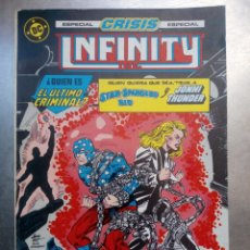 Cómics: INFINITY INC. : ESPECIAL CRISIS. [RETAPADO. NÚMS. 17-21] COMIC INFINITY INC. : ESPECIAL CRISIS.. Lote 169371602