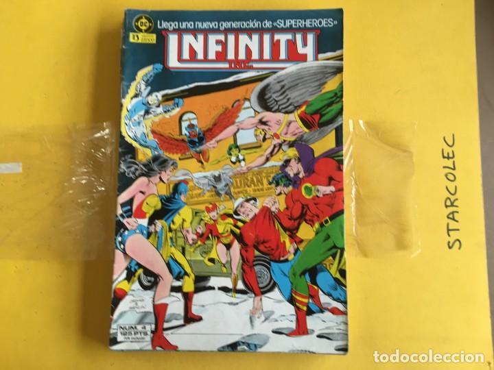 Cómics: INFINITY INC. LOTE DE 8 NUMEROS. EDITORIAL ZINCO - Foto 2 - 169389984