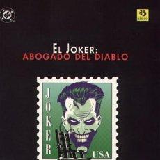 Cómics: EL JOKER: ABOGADO DEL DIABLO - ZINCO - IMPECABLE. Lote 211513519