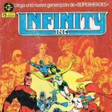 Cómics: INFINITY INC POR ROY THOMAS, JERRY ORDWAY Y TODD MCFARLANE (COMPLETA). Lote 169670232