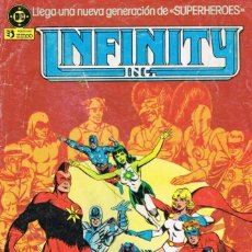 Comics: INFINITY INC POR ROY THOMAS, JERRY ORDWAY Y TODD MCFARLANE (COMPLETA). Lote 169670232