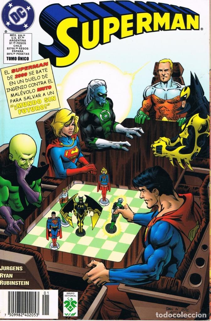 SUPERMAN. MUNDO SIN FUTURO. TOMO UNICO. VID COMICS (Tebeos y Comics - Zinco - Superman)