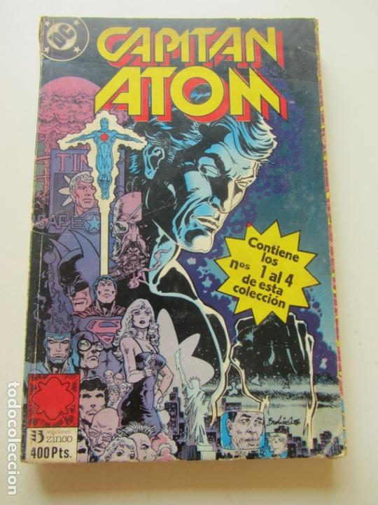 CAPITAN ATOM: Nº 1, 2, 3 Y 4. RETAPADO DC COMICS. EDICIONES ZINCO SDX15 (Tebeos y Comics - Zinco - Retapados)