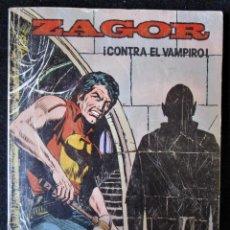 Comics : ZAGOR Nº 2 ¡CONTRA EL VAMPIRO! EDICIONES ZINCO 1982. Lote 169744884
