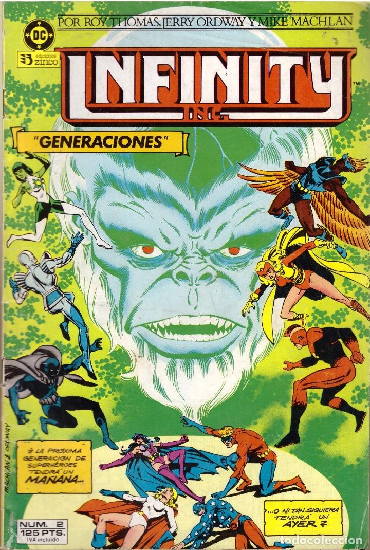 COMIC INFINITY INC., Nº 2 - ED. ZINCO (Tebeos y Comics - Zinco - Infinity Inc)