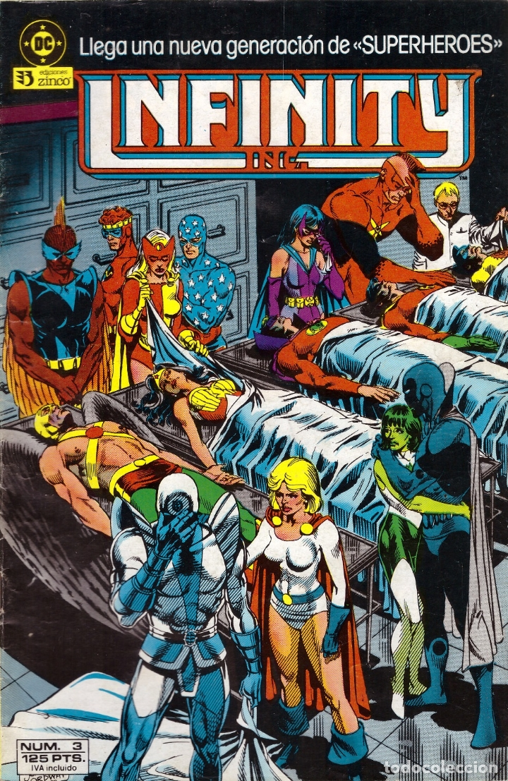 COMIC INFINITY INC., Nº 3 - ED. ZINCO (Tebeos y Comics - Zinco - Infinity Inc)