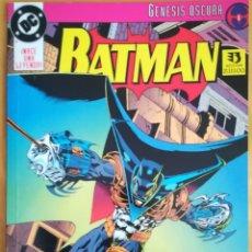 Cómics: BATMAN GENESIS OSCURA BUEN ESTADO. Lote 169789572