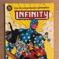 Cómics: INFINTY INC. N° 8 (DC ZINCO 1986). EN MUY BUEN ESTADO.. Lote 169837309
