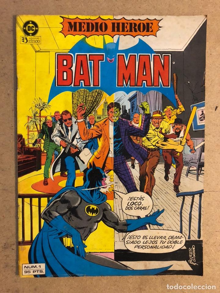 BATMAN N° 1 (DC ZINCO 1984). MEDIO HÉROE. (Tebeos y Comics - Zinco - Batman)