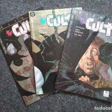 Fumetti: BATMAN THE CULT NºS 1 2 Y 3 - FALTA EL Nº 4 PARA ESTAR COMPLETA - JIM STARLIN & BERNIE WRIGHTSON. Lote 170052240