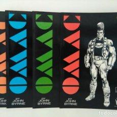 Cómics: OMAC DE JOHN BYRNE #1-4 (SERIE COMPLETA DE 4 PRESTIGIOS) - DC COMICS - ZINCO.. Lote 261152110