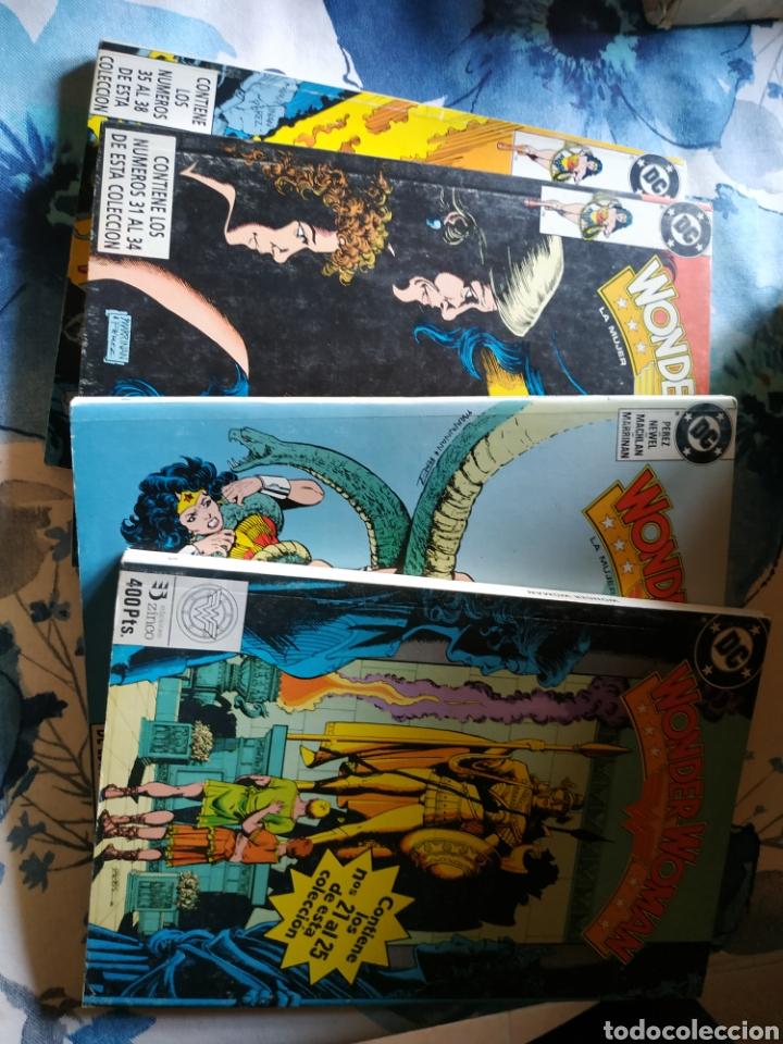WONDER WOMAN 38 NÚMEROS 8 RETAPADOS ZINCO (Tebeos y Comics - Zinco - Otros)