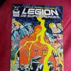Cómics: LEGION DE SUPER-HEROES. Nº 18. EDICIONES ZINCO. Lote 170134492