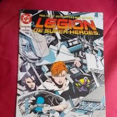 Cómics: LEGION DE SUPER-HEROES. Nº 20. EDICIONES ZINCO. CON POSTER. Lote 170134588