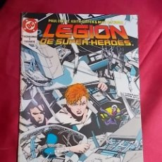 Cómics: LEGION DE SUPER-HEROES. Nº 20. EDICIONES ZINCO. CON POSTER. Lote 170134604