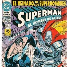 Fumetti: SUPERMAN. EL REINADO DE LOS SUPERHOMBRES. Nº 5. DC / ZINCO (Z/C9). Lote 170202620