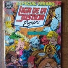 Cómics: LIGA DE LA JUSTICIA EUROPA ESPECIAL Nº 1 - ZINCO DC COMICS - 68 PGNAS.. Lote 170287976
