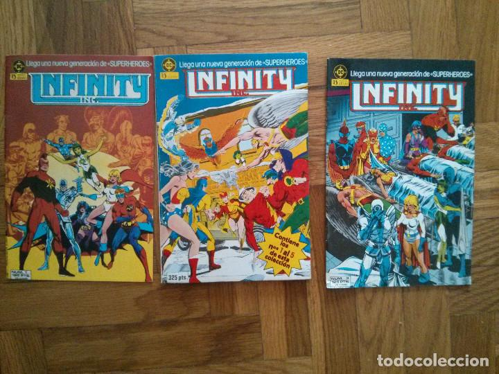 INFINITY COMICS MARVEL, DC COMICS LOTE 1-5 (Tebeos y Comics - Zinco - Infinity Inc)