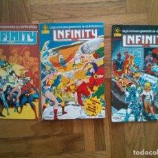 Cómics: INFINITY COMICS MARVEL, DC COMICS LOTE 1-5. Lote 170868885