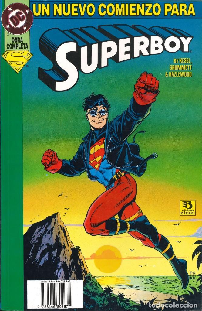 SUPERBOY (TOMOS) - ZINCO / COLECCIÓN COMPLETA (Tebeos y Comics - Zinco - Prestiges y Tomos)
