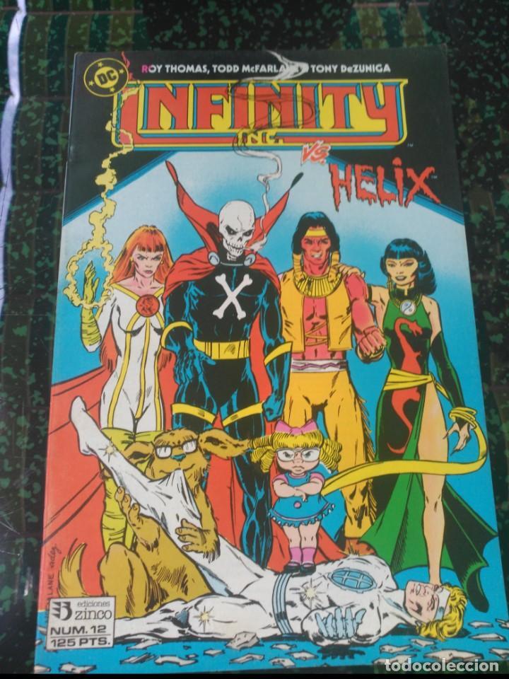 INFINITY INC Nº12 (Tebeos y Comics - Zinco - Infinity Inc)