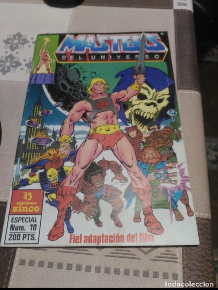 MASTERS DEL UNIVERSO Nº 10 (Tebeos y Comics - Zinco - Otros)