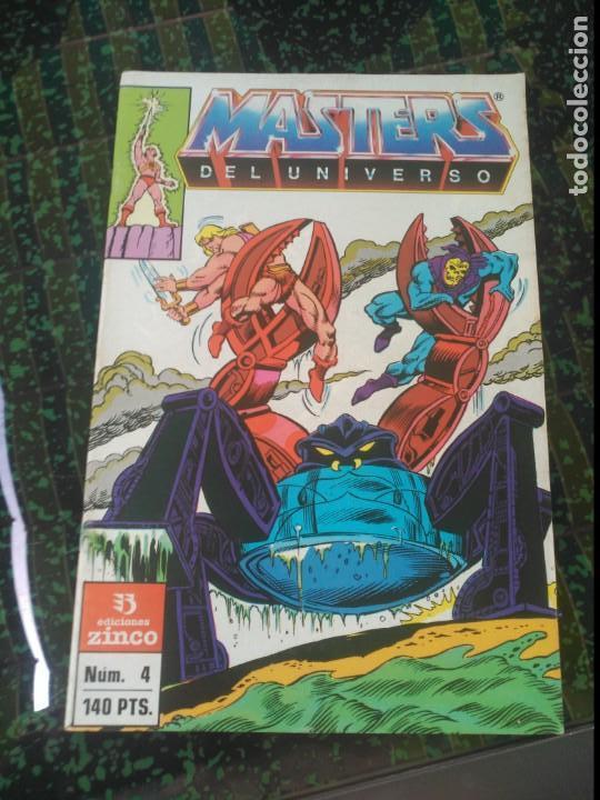 MASTERS DEL UNIVERSO Nº 4 (Tebeos y Comics - Zinco - Otros)