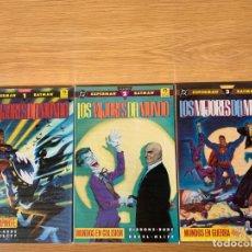 Cómics: SUPERMAN Y BATMAN - LOS MEJORES DEL MUNDO. Lote 171512168