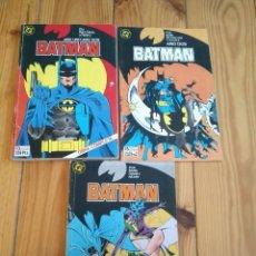 Cómics: BATMAN NºS 1 AL 11 - AÑO UNO, AÑO DOS, ETAPA DE ALAN DAVIS. Lote 171562847