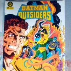 Cómics: BATMAN Y LOS OUTSIDERS- Nº 10 -MIKE W. BARR-WILL WILLINGHAN-1986- BUENO- MUY DIFÍCIL- LEAN- 1593. Lote 171632410