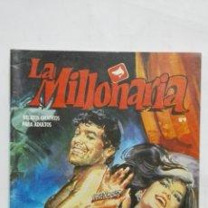 Cómics: LA MILLONARIA, Nº 9, EL SUSPENSORIO DEL EMIR, AÑO 1988. Lote 171747142