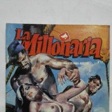Cómics: LA MILLONARIA, Nº 17, LA SOMBRA DE ANUBIS, AÑO 1988. Lote 171747190