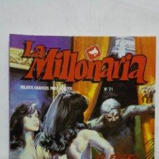 Cómics: LA MILLONARIA, Nº 21, EL FILTRO DEL OLVIDO, AÑO 1988. Lote 171747230