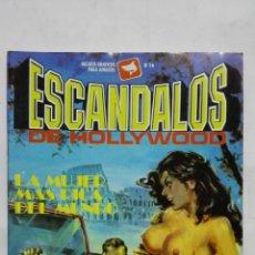 Cómics: ESCANDALOS DE HOLLYWOOD, Nº 16, LA MUJER MAS RICA DEL MUNDO, AÑO 1988. Lote 171747327