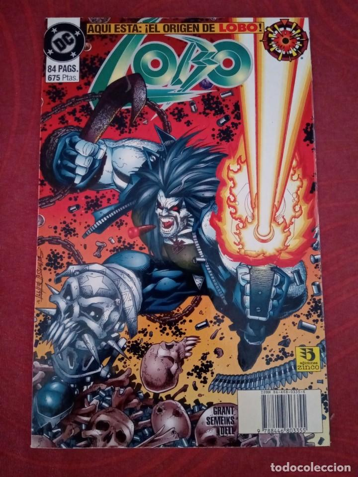 LOBO - LOTE DE CÓMICS DE LOBO EN DIFERENTES FORMATOS (Tebeos y Comics - Zinco - Lobo)