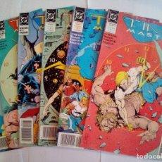 Cómics: LOTE DE 6 COMICS TIME MASTER Nº 2-4-5-6-7-8. Lote 171835658