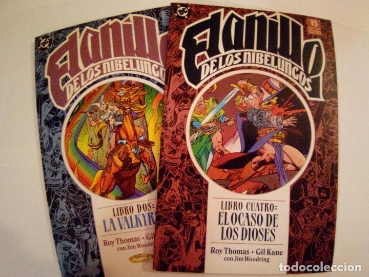 EL ANILLO DE LOS NIBELUNGOS-ROY THOMAS Y GIL KANE-TOMOS 2 Y 4 (Tebeos y Comics - Zinco - Prestiges y Tomos)