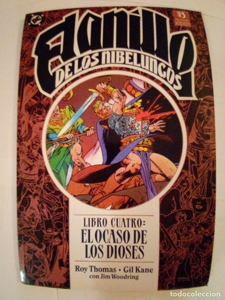 Cómics: EL ANILLO DE LOS NIBELUNGOS-ROY THOMAS Y GIL KANE-TOMOS 2 Y 4 - Foto 6 - 171840858