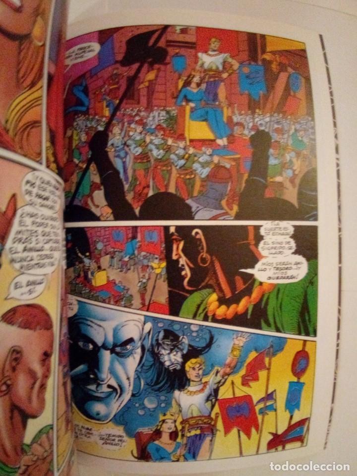 Cómics: EL ANILLO DE LOS NIBELUNGOS-ROY THOMAS Y GIL KANE-TOMOS 2 Y 4 - Foto 8 - 171840858