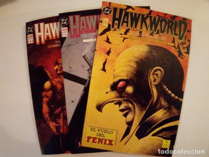 HAWKWORLD-TIMOTHY TRUMAN CON ALCATENA Y PARSONS-COLECCION COMPLETA (Tebeos y Comics - Zinco - Prestiges y Tomos)