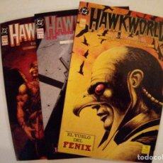 Cómics: HAWKWORLD-TIMOTHY TRUMAN CON ALCATENA Y PARSONS-COLECCION COMPLETA. Lote 171840925