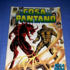 Cómics: LA COSA DEL PANTANO Nº 4 EDICIONES ZINCO DC COMICS ORIGINAL DESDE 1 EURO VER FOTO Y DESCRIPCION. Lote 172211049
